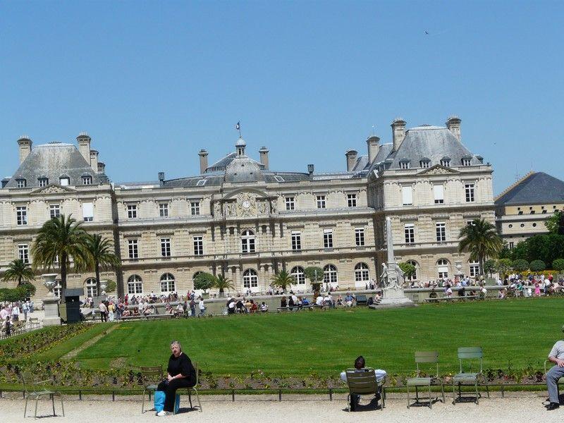 Jardin du luxembourg le palais - Le jardin gourmand luxembourg ...