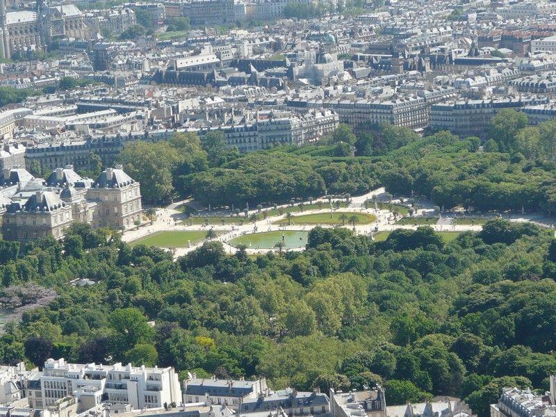 La tour montparnasse le jardin du luxembourg - Le jardin gourmand luxembourg ...