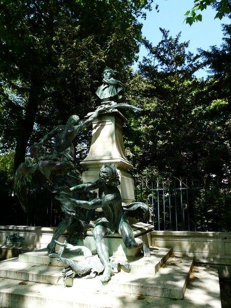 Jardin du luxembourg fontaine eug ne delacroix - Le jardin gourmand luxembourg ...